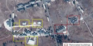 Iranian base near Damascus.